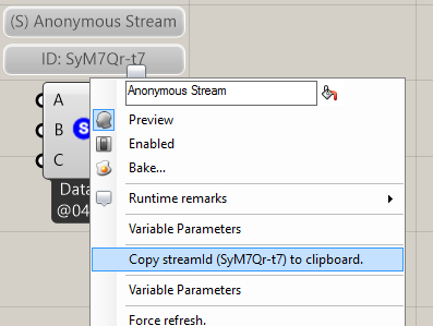 Data streaming between Grasshopper and Dynamo